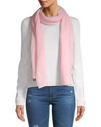 Lord & Taylor - Long Cashmere Scarf - Lyst