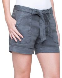 Liverpool Jeans - Core Kinley Self-tie Shorts - Lyst