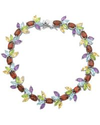 Lord & Taylor - Multi-stone Marquise Cut Bracelet - Lyst