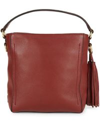 2df31d021e9 Lyst - Cole Haan Cassidy Smartphone Leather Crossbody Bag in Red