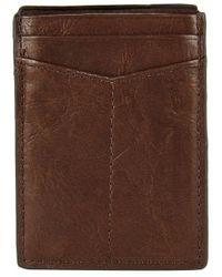Fossil - Ingram Rfid Magnetic Card Case - Lyst
