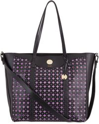 Lodis - Laguna Perforated Rfid Onna Large Tote - Lyst
