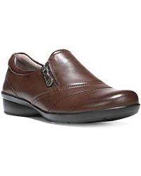 Naturalizer - Clarissa Leather Loafers - Lyst