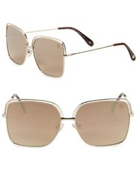 Vince Camuto - 62mm Square Sunglasses - Lyst