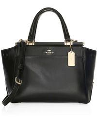 COACH - Grace Refined Calf Leather Bag - Lyst