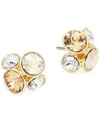 Ted Baker - Lynda Cluster Stud Earrings - Lyst