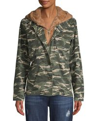 Kensie - Layered Faux Fur Lined Jacket - Lyst