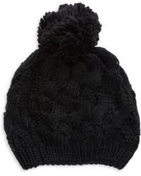 Modena | Cable Knit Hat | Lyst