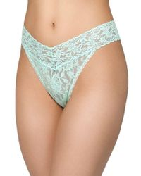 Hanky Panky | Original Rise Lace Thong | Lyst