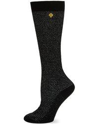 Kate Spade - Marled Knee-high Socks - Lyst