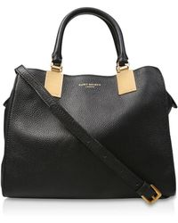 Kurt Geiger - Black Emma Small Leather Tote Bag - Lyst