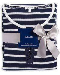 Splendid - Crisscross Pajamas - Lyst