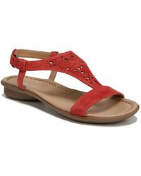 Naturalizer - Windham Leather Ankle-strap Sandals - Lyst