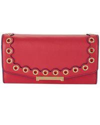 Ivanka Trump - ??ara Embellished Faux Leather Crossbody Wallet - Lyst