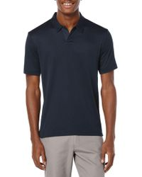 Perry Ellis - Big And Tall Open Placket Polo - Lyst