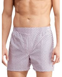 5bd5ac57e7dd56 Polo Ralph Lauren Woven Boxer Shorts in Black for Men - Save 35% - Lyst