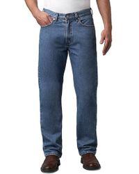 Levi's - 505 Regular-fit Medium Stonewash Jeans - Lyst