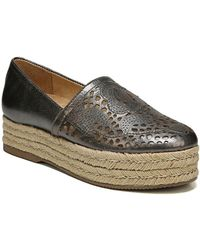 Naturalizer - Thea Leather Slip-on Espadrilles - Lyst