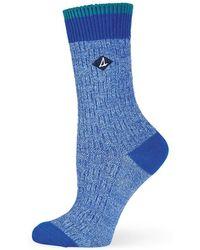 Sperry Top-Sider - Basketweave Slub Crew Socks - Lyst