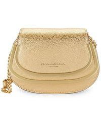 Donna Karan - Convertible Leather Clutch - Lyst