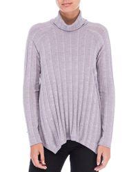 B Collection By Bobeau - A-line Mockneck Sweater - Lyst