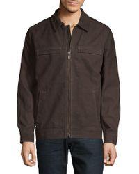 Tommy Bahama - Elliot Bay Leather Jacket - Lyst