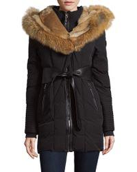Rudsak - Fox Fur-trimmed Down Coat - Lyst