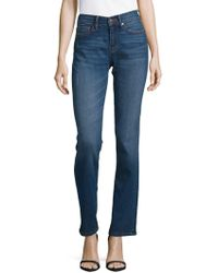 Karl Lagerfeld - Mid-rise Straight Leg Jeans - Lyst