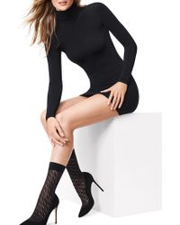Wolford - Florence Mid-calf Socks - Lyst