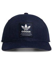 494c9893 adidas Originals Trefoil Snapback In Black Bk7324 in Black for Men - Save 32%  - Lyst