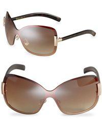 Circus by Sam Edelman - 59mm Shield Sunglasses - Lyst