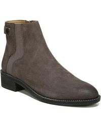 Franco Sarto - Brandy Leather Booties - Lyst
