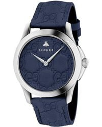 51bce1ef7 Gucci - G-timeless Stainless Steel Watch - Lyst