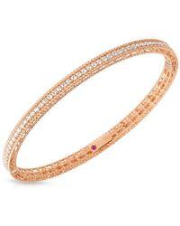 Roberto Coin - Symphony Diamond Princess Bangle Bracelet- 0.61tcw - Lyst