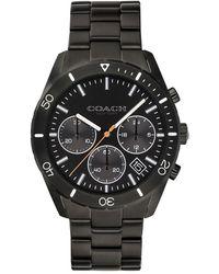 COACH - Thompson Sport Stainless Steel Chronograph Bracelet Watch - Lyst