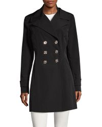 Ivanka Trump - Double-breasted A-line Coat - Lyst