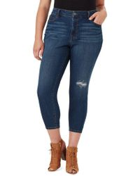 Jessica Simpson Plus Adored Curvy Cropped Skinny Jeans