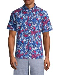 Tommy Bahama - Botticelli Toss Camp Shirt - Lyst
