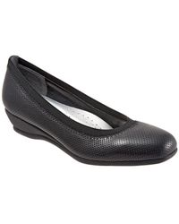 Trotters - Lansing Leather Wedge - Lyst