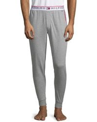Tommy Hilfiger - Logo Waistband Lounge Trousers - Lyst