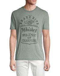 Lucky Brand - Snake Bite Whiskey Graphic T-shirt - Lyst