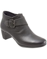 Softwalk - Imlay Leather Booties - Lyst