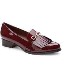 Tahari - Lively Heeled Loafer - Lyst