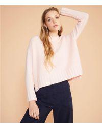Lou & Grey - Texturestitch Sweater - Lyst