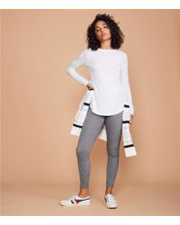 Lou & Grey - Houndstooth Ponte Leggings - Lyst