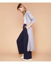 Lou & Grey - Softened Jersey Maxi Cardigan - Lyst