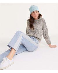 Lou & Grey - Sparkle Stripe Straight Leg Jeans - Lyst