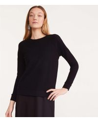 Lou & Grey - Fitted Sweatshirt - Lyst