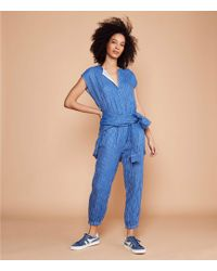 e0b926dd4ff6 Lyst - Lou   Grey Afterparty Luster Jumpsuit in Blue