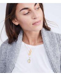 Lou & Grey - Shashi Sentiments Locket Necklace - Lyst